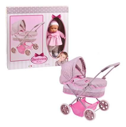 Коляска для куклы Dimian Bambolina Boutique. Классическая коляска с куклой