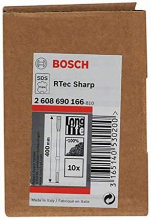 Зубило SDS-MAX для перфораторов Bosch 25Х400мм SHARP 2608690166