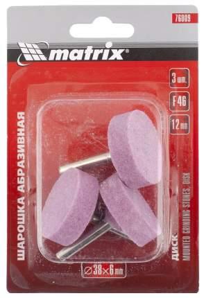 Отрезной круг для гравера MATRIX 38x12x6 F46 3шт 76009