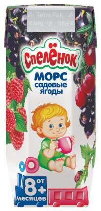 Морс Спелёнок Садовые ягоды с 8 мес 200 мл