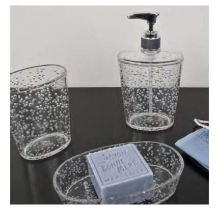 Дозатор для мыла Spirella Ice Прозрачный