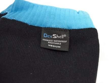 Носки DexShell Waterproof Coolvent 2016 черно-голубые, размер 36-38