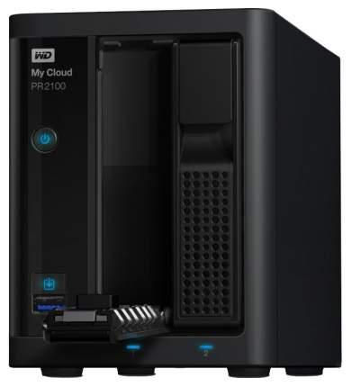 Сетевое хранилище данных Western Digital WDBVND0080JBK-EEUE