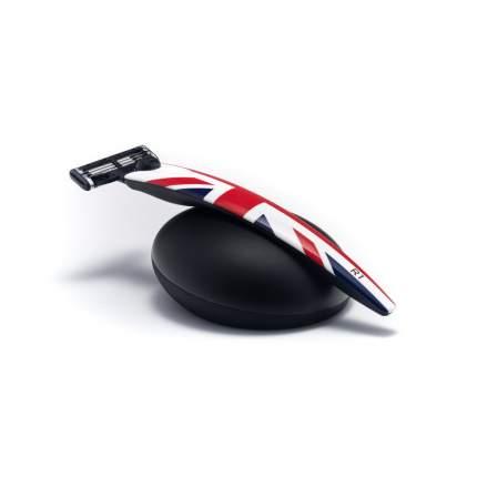 Подарочный набор Bolin Webb R1 бритва R1 Union Jack + подставка R1