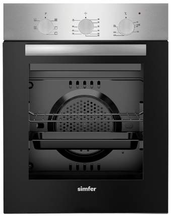 Встраиваемый электрический духовой шкаф Simfer B4EM16012 Silver