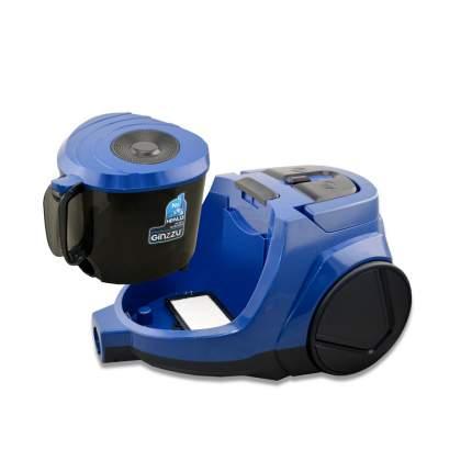Пылесос Ginzzu VS438 Black/Blue