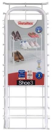 Подставка для обуви Metaltex 36.55.03 36.55.03 64х59х26см, белый