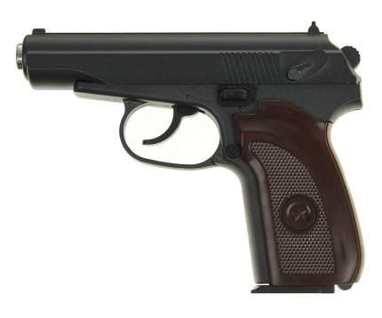 Страйкбольный пружинный пистолет Galaxy  Китай (кал. 6 мм) G.29 (ПM) коричневая рукоятка