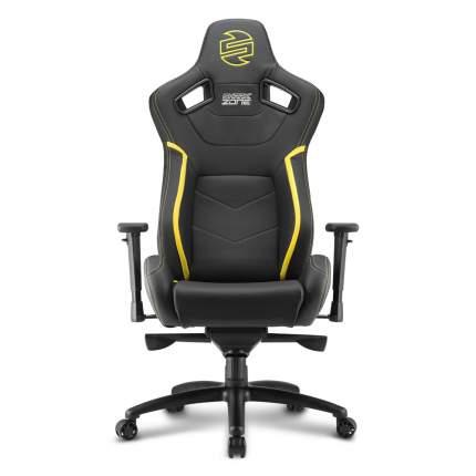 Кресло компьютерное Shark Zone GS10 Black/Yellow