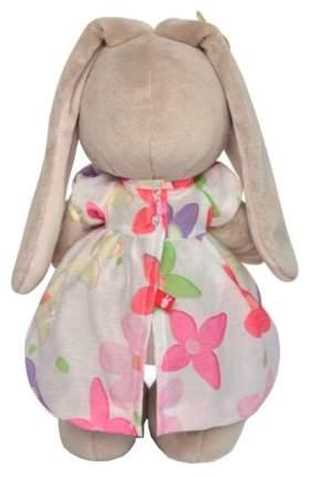 Мягкая игрушка «Зайка Ми» в летнем платье с бабочками на ушках, 25 см Зайка Ми