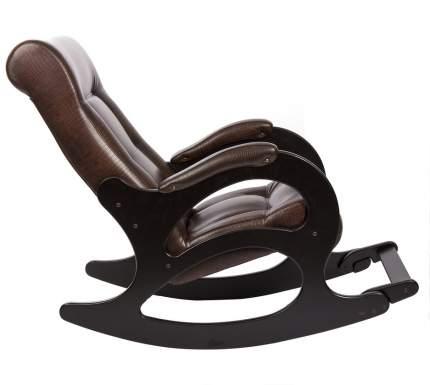 Кресло-качалка Мебель Импэкс Модель 44, коричневый