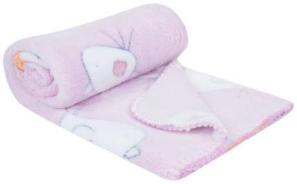 Плед-покрывало Baby Nice Птичка 75х100 см, розовый