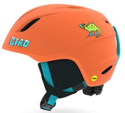 Горнолыжный шлем детский Giro Launch 2019, оранжевый, S
