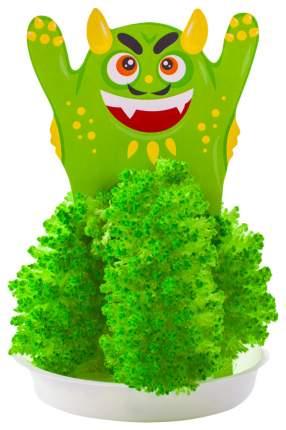 """Набор Выращивание кристаллов. Монстрики """"Зелёный монстрик"""""""