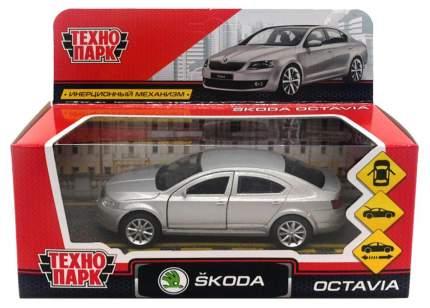 Машина инерционная Skoda Octavia, 12 см