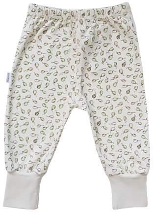 Ползунки - штанишки Папитто с манжетом Воздушные шарики цвет салатовый, экрю р.20-62