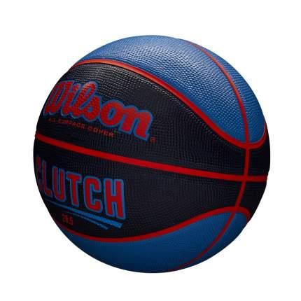 Мяч баскетбольный Wilson Clutch 285 SS18, 6, синий