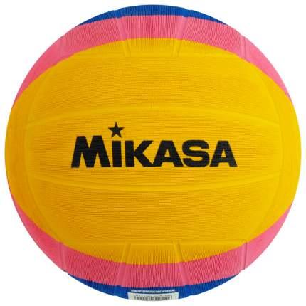 Мяч для водного поло Mikasa W6008W Junior 2, желтый/розовый/синий