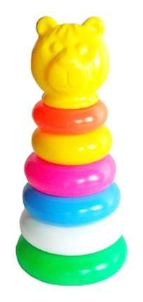 Развивающая игрушка Спектр Пирамида зоопарк Медведь 22 см У775