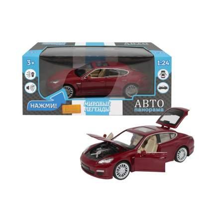 Машинка металлическая Автопанорама 1:24 Porsche Panamera S, JB1251133