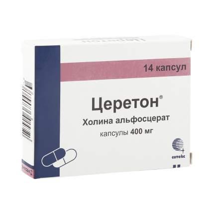 Церетон капсулы 400 мг 14 шт.