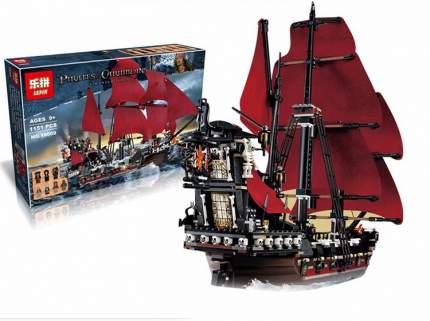 Конструктор пластиковый LEPIN 16009 Корабль Месть Королевы Анны