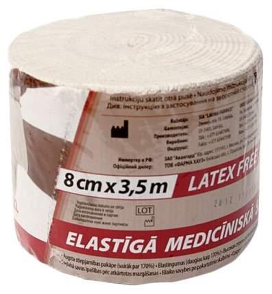 Бинт Lauma эластичный для лечения венозных воспалений и травм 3,5 м х 8 см