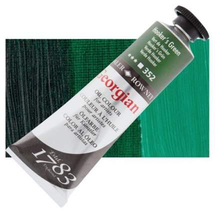 Масляная краска Daler Rowney Georgian зеленый хукера 75 мл