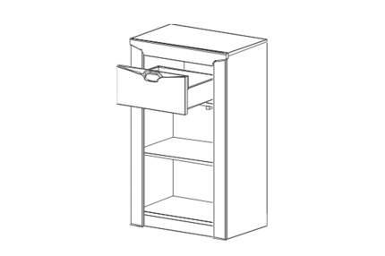 Консоль мебельная Hoff Соренто 60х98,5х38,5 см