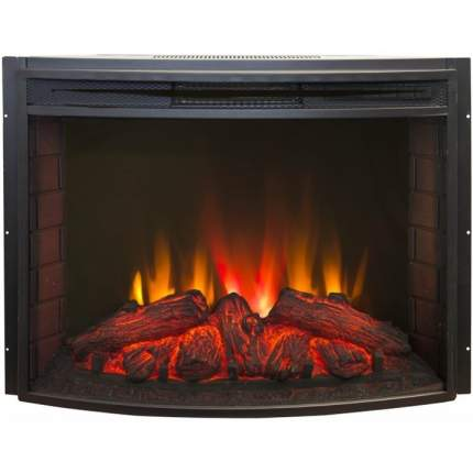 Современный электокамин Real-Flame Country 25 WT с очагом Evrika 25,5 LED