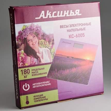Весы напольные Аксинья КС-6005