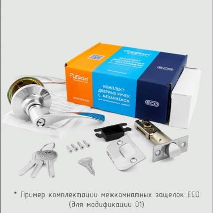 Ручка-защелка Нора-М ЕСО (хром) ТТ15-05-Э