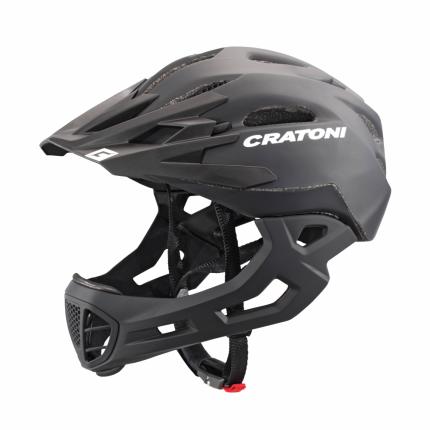 Велосипедный шлем Cratoni C-Maniac, black matt, S/M