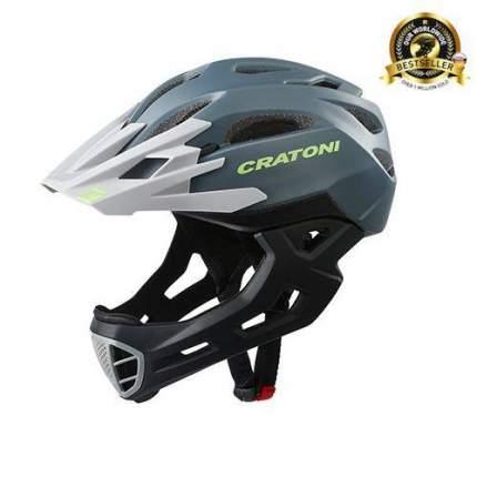 Шлем CRATONI C-MANIAC FULL FACE ANTHRACITE BLACK