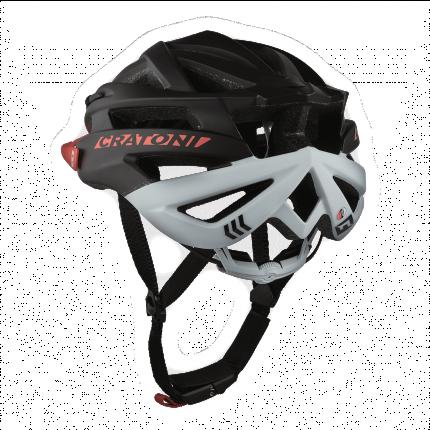 Велосипедный шлем Cratoni Agravic, black/red matt, L/XL