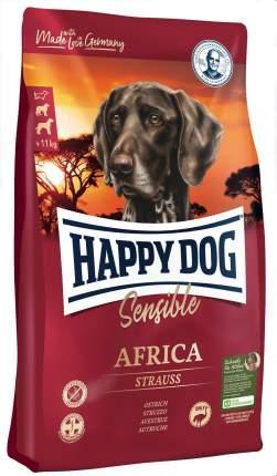 Сухой корм для собак Happy Dog Supreme Sensible Africa, монобелковый, страус, 1кг