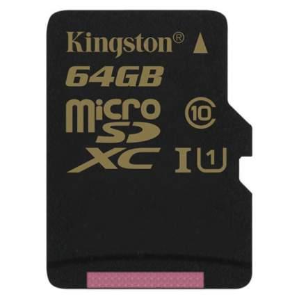 Карта памяти Kingston Micro SDXC SDCA10 64GB