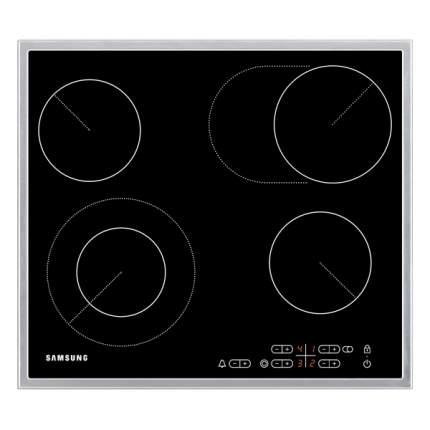 Встраиваемая варочная панель электрическая Samsung C61R2CAST Black
