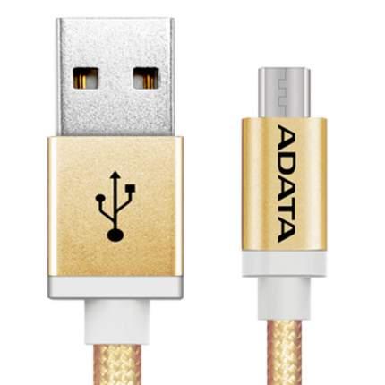 Кабель Adata microUSB 1м Gold