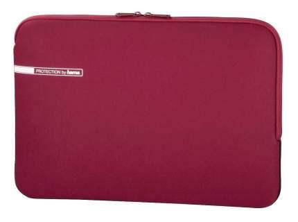 """Сумка для ноутбука 15.6"""" Hama Neoprene Style красная"""