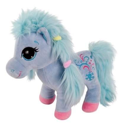 Мягкая игрушка Gulliver Пони с голубой гривой 25 см