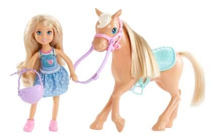 Кукла Barbie Челси и Пони DYL42