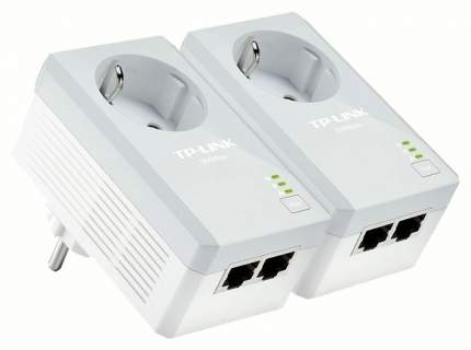 Комплект powerline-адаптеров TP-Link TL-PA4020P KIT AV500 со встроенной розеткой