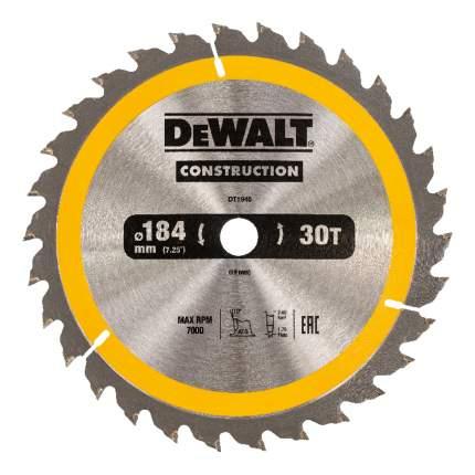 Диск по дереву для дисковых пил DeWALT DT1940-QZ