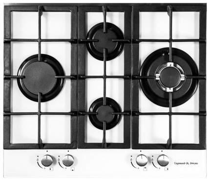 Встраиваемая варочная панель газовая Zigmund & Shtain MN 114.61 White