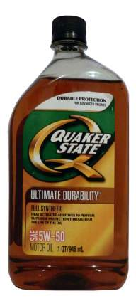 Моторное масло Quaker state Ultimate Durability SAE 5W-50 0,946л