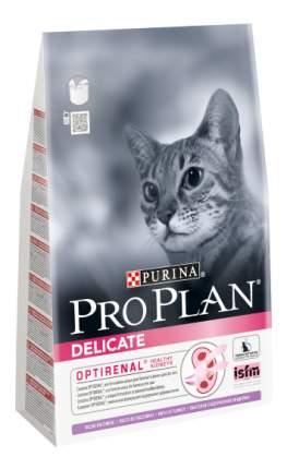 Сухой корм для кошек PRO PLAN Delicate, при чувствительном пищеварении, индейка, рис, 3кг