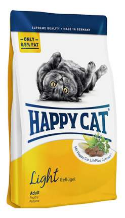Сухой корм для кошек Happy Cat Fit & Well Light, облегченный, домашняя птица, 10кг