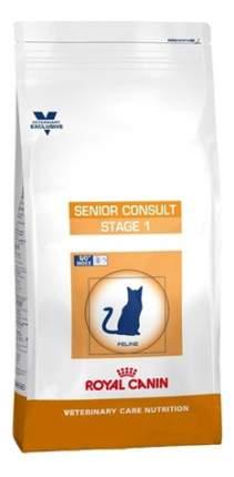 Сухой корм для кошек ROYAL CANIN Senior Consult Stage 1 старше 7 лет, домашняя птица,0,4кг