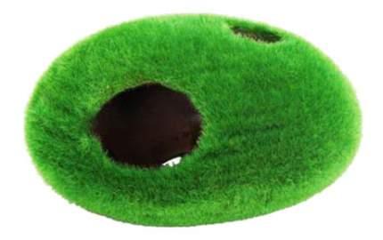 Грот для аквариума МЕЙДЖИНГ АКВАРИУМ Камень с отверстиями, полиэфирная смола, 13х13х13 см